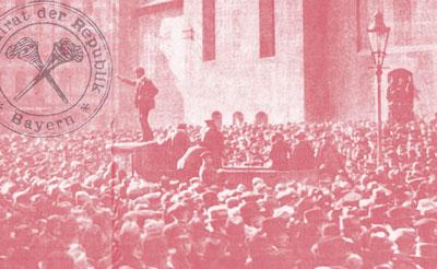 Ausrufung Räterepublik in Würrzburg